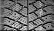тип рисунка протектора - зимний, предназначенный для ошиповки